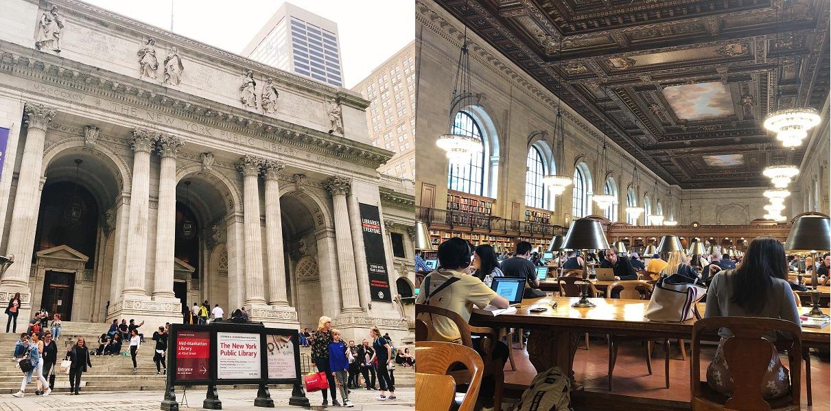 ニューヨーク公共図書館 NYPL (New York Public Library)