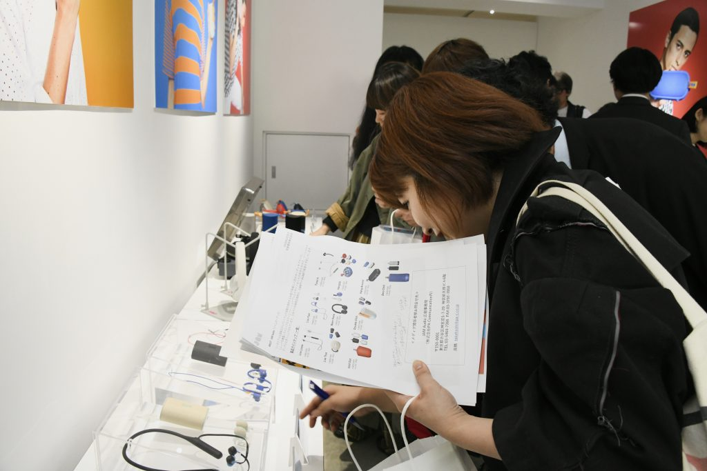 JAM Audio POP-UP STORE イベントの様子(2)