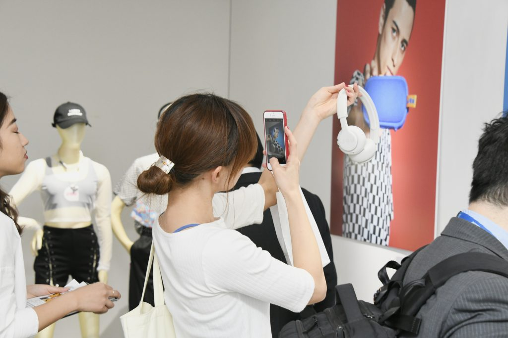 JAM Audio POP-UP STORE イベントの様子(3)
