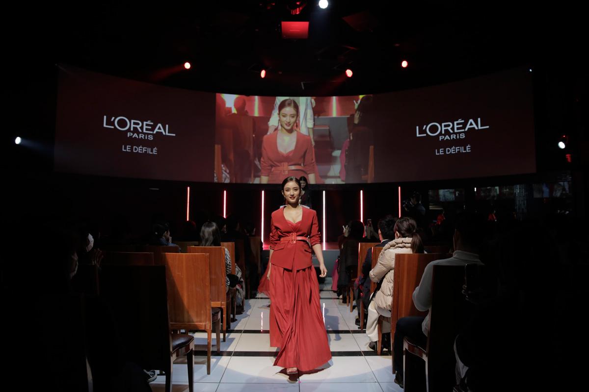 ロレアルパリ ブランドイベント ファッションショー